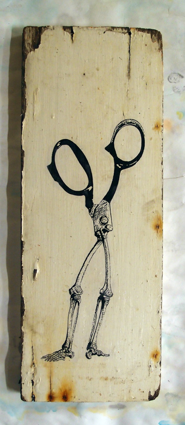 skeleton scissors