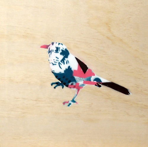 Bird Stencil by Glen Smith