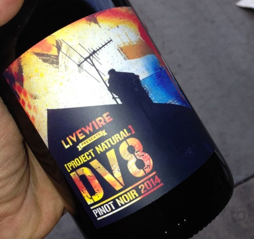 DV8 wine stolen FB